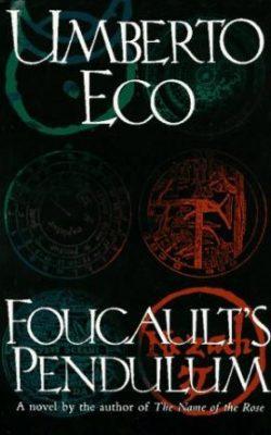 Book cover of Foucault's Pendulum by Umberto Eco