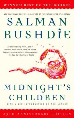 Book cover of Midnight's Children with a New Introduction by the Author by Salman Rushdie