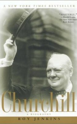 Book cover of Churchill: A Biography by Roy Jenkins