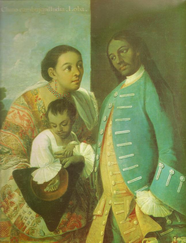 Mestizo spanish paintings