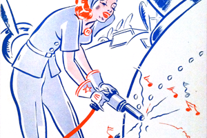 Riveting and Welding: The Revolution of Women in the Workforce