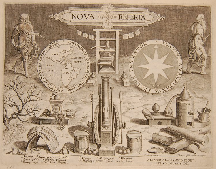 "Stradanus, Nova Reperta, or ""New Inventions of Modern Times"" (The British Museum)"