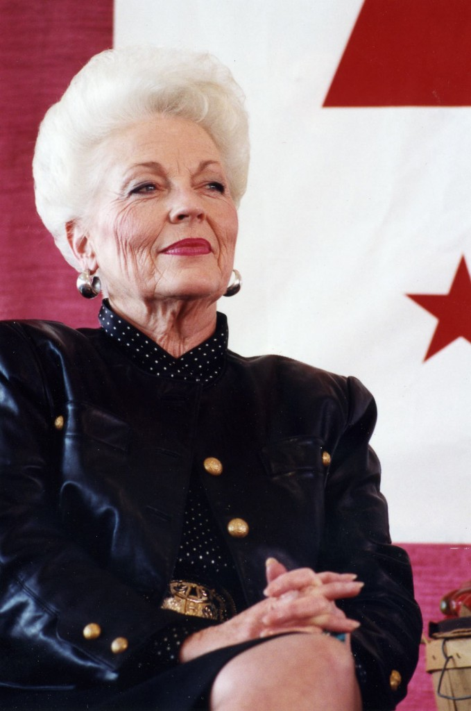 Texas Governor Ann Richards in 1992 (Kenneth C. Zirkel/Wikimedia Commons)