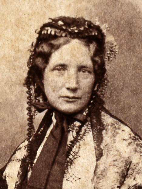 Harriet Beecher Stowe, 1852 (Gurney & Sons - Bowdoin College Museum of Art)