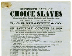 Slavery in America: Back in the Headlines