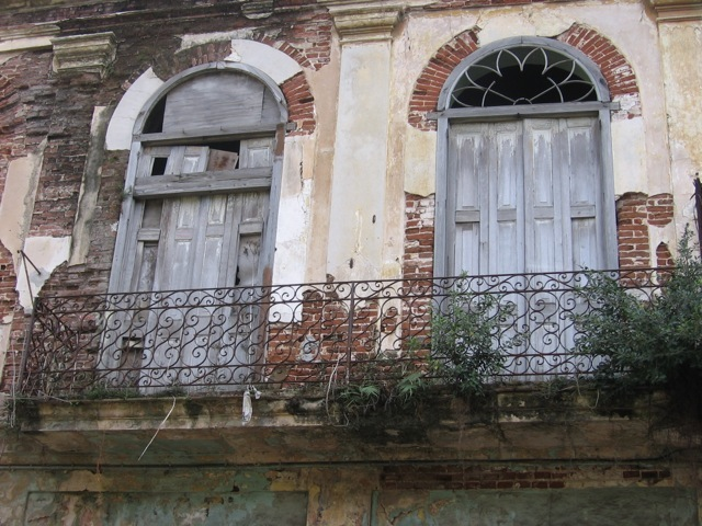 Cuba's government is renovating run-down buildings such as this one in the historic Havana Vieja.