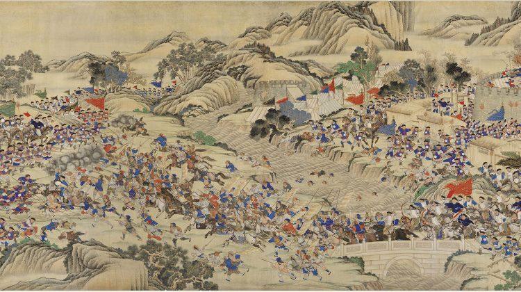 Li cover Taiping Rebellion (1853-1864)