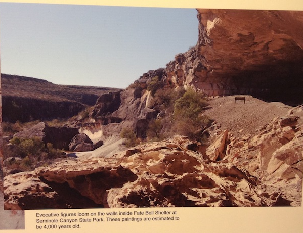 Wall Paintings at Seminole Canyon State Park