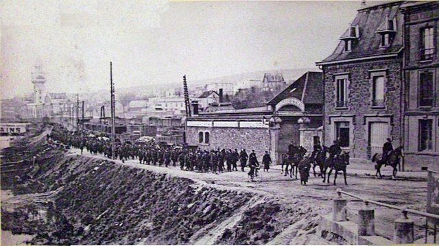 French troops mobilized to respond to the revolt of winemakers in Champagne.