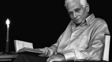 Jacques Derrida. Via Britannica.