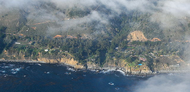 Esalen Institute, California. Via Wikipedia.