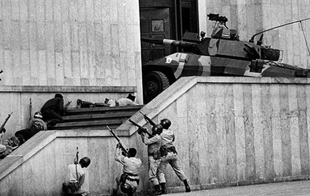On November 6, 1985, M19 stormed Bogota's Palace of Justice.