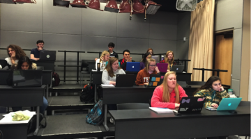 Digital Teaching: Blending the Old with the New: In-Person Studio Attendance