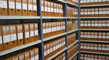 The Blemished Archive: How Documents Get Saved