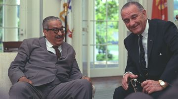 History Calling: LBJ and Thurgood Marshall on the Telephone