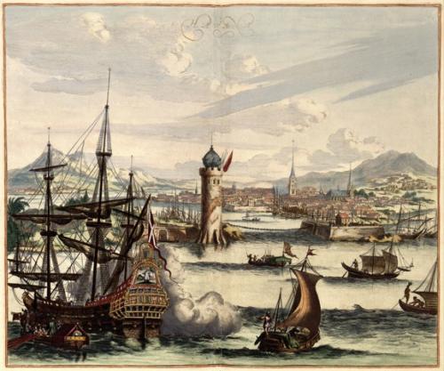 17th century depiction of Havana