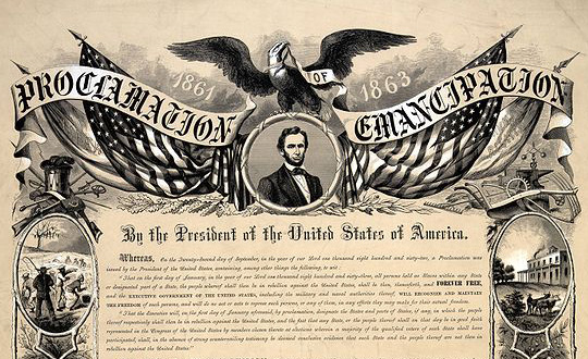 The Emancipation Proclamation January 1 1863 Not Even Past