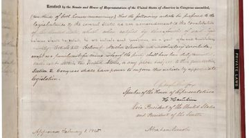 The Emancipation Proclamation and its Aftermath