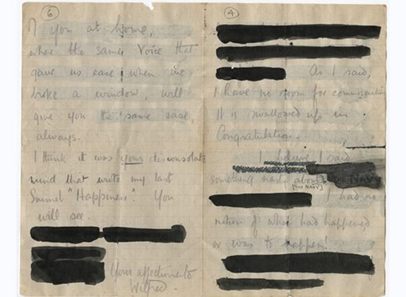 Censorship In Surprising Places Uncovering The Letters Of