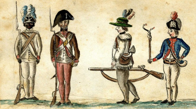 revwar soldiers