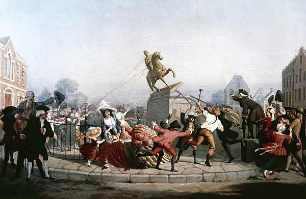 king-george-iii-statue-1776-granger 2