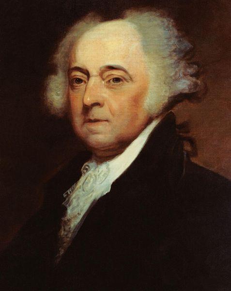 President John Adams (Wikipedia)