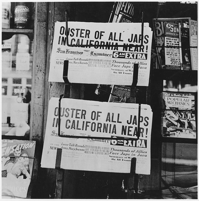 San Francisco Examiner, February 1942 (Library of Congress)