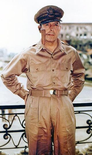 Douglas MacArthur, 1945 (U.S. National Archives)