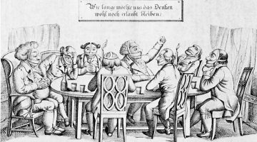Civility and Speech in the Modern University, 200 Years Ago in Germany