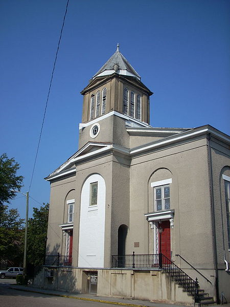 First African Baptist Church, Savannah (Chatham County, Georgia), 2009. Image via Wikimedia Commons