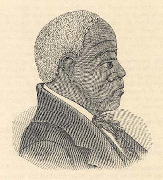 Image of Rev. Andrew Bryan from History of the First African Baptist Church, From its Organization, January 20th, 1788, to July 1st, 1888. Including the Centennial Celebration, Addresses, Sermons, Etc. by E.K. Love