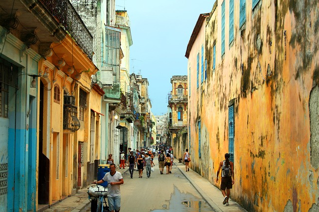 Streets of Havana after a rainstorm