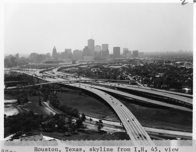 View of I-45 in Houston, Courtesy of the State of Texas Department of Transportation
