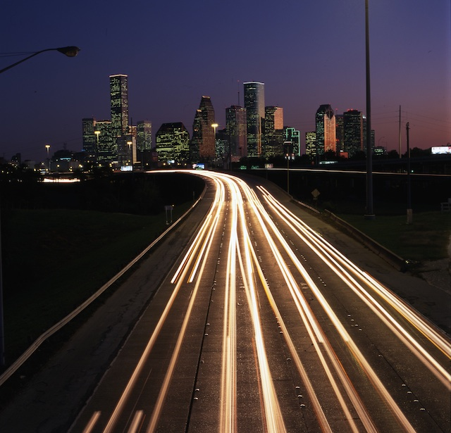 View of I-45 in Houston, Courtesy of the State of Texas Department of Transportation Now