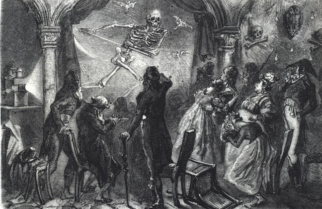Image depicting Étienne-Gaspard Robert's Phantasmagoria show