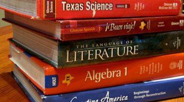 Texas' New Social Studies Textbooks. Courtesy of Texas Tribune