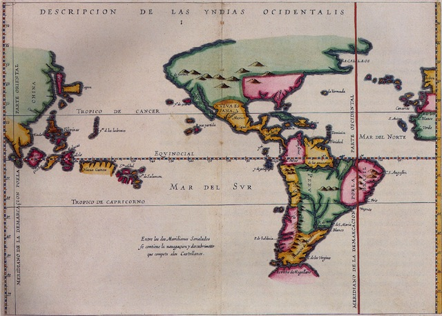 Description des Indes Occidentales [Description of the West Indies]. Antonio de Herrera y Tordesillas. Amsterdam: M. Colin, 1622. (Courtesy of the Library of Congress)