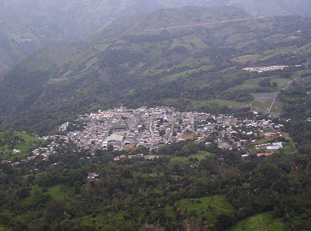 Muzo, Colombia. Via Wikimedia Commons.