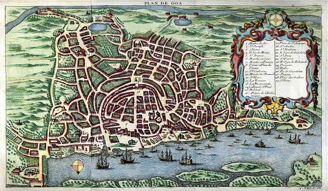 Antoine François, 'Plan de Goa' 1746-1789