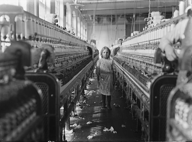 Child Laborer in the Mollohan Mills, Newberry, South Carolina, 1908.