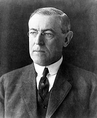 President of the United States Thomas Woodrow Wilson, 1912 (Via Wikimedia Commons)