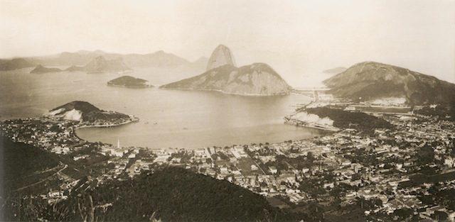 Photo of Rio de Janeiro, 1889. Via Wikimedia Commons.