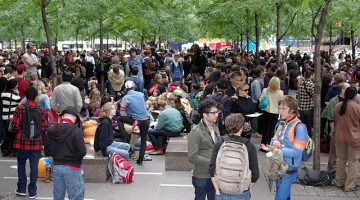 The Occupy Movement began on September 17, 2011, in Zuccotti Park, New York.