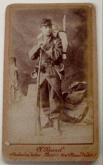 Francois LaBorde, Paris, 1883