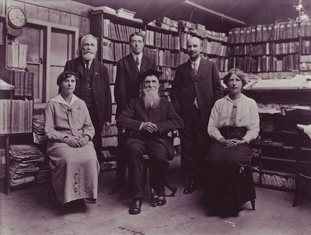 James Murray and the OED editorial staff, 1915
