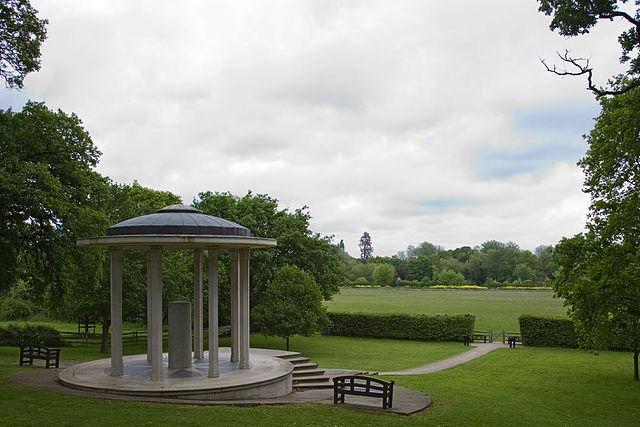 The Magna Carta Memorial at Runnymede erected by the American Bar Association in 1957.