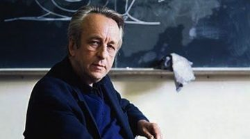Pierre Louis Althusser in the classroom.
