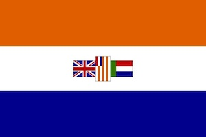 Flag of apartheid South Africa