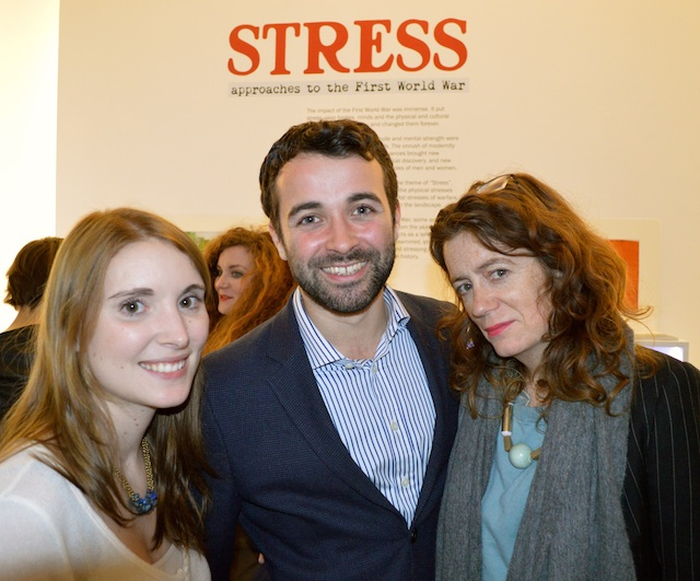 Opening Night of Stress Exhibition