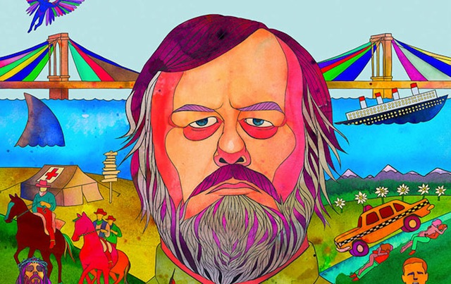 Poster advertising Zizek's movie 'The Pervert's Guide to Ideology'